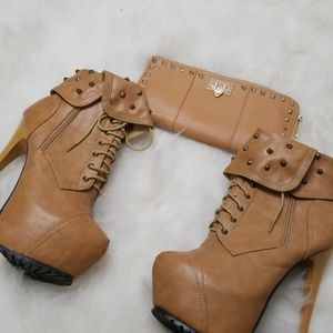 Nubuck Booties